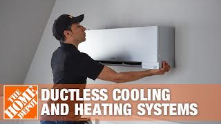 Mitsubishi Electric Ductless Cooling and Heating Systems | The Home Depot