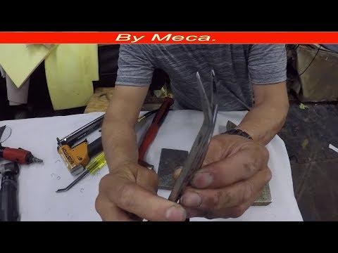 How to Make  a Staple Puller DIY UPholstery tips # 27 | Como Hacer Un Saca Grampas en casa