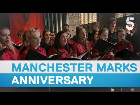 Manchester remembers the victims of the terror attack on first anniversary – 5 News