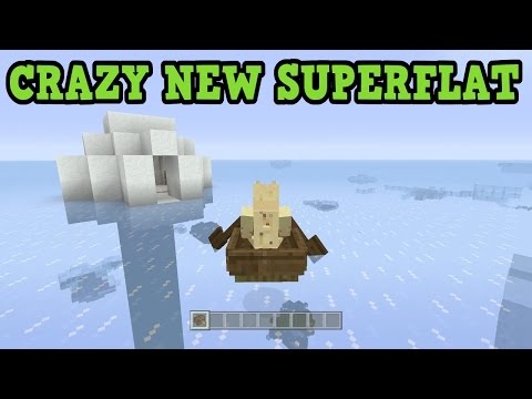 Minecraft Xbox One / PS4 - BEST NEW SUPERFLAT