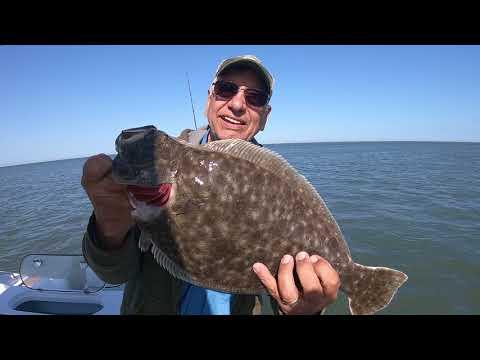 April 27th to May 2nd 2018 Wachapreague, Virginia Flounder Fishing