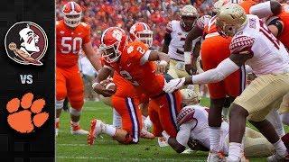 Florida State vs. Clemson Football Highlights (2017)