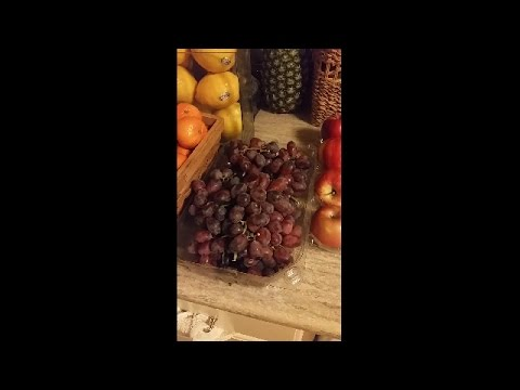 How to wash grapes to stay longer and chemical free