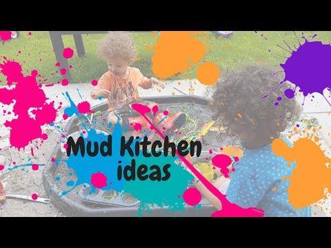 Mud Kitchen Ideas