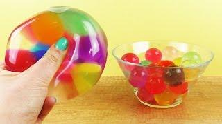 Anti Stressball Selber Machen Squishy Mesh Ball Mit Schleim Und