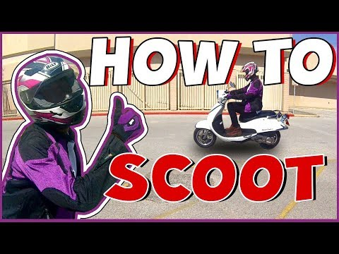 How To Ride A Scooter (For Dummies)