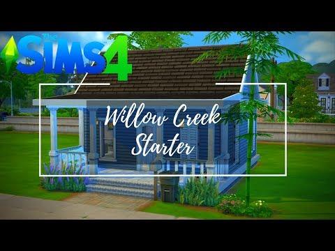 Willow Creek Starter | Speed Build | Sims 4