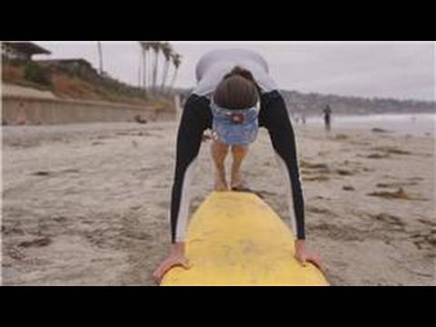 Surfing : How to Pop Up on a Surfboard
