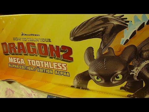 Spin Master Toys: Mega Toothless Alpha Edition!