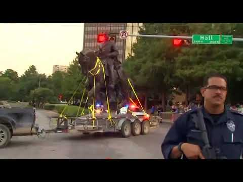 What will happen to the confederate monument in downtown Dallas?