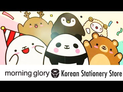 A Quick Look at Morning Glory Korean Stationery Store (Hongdae Location)