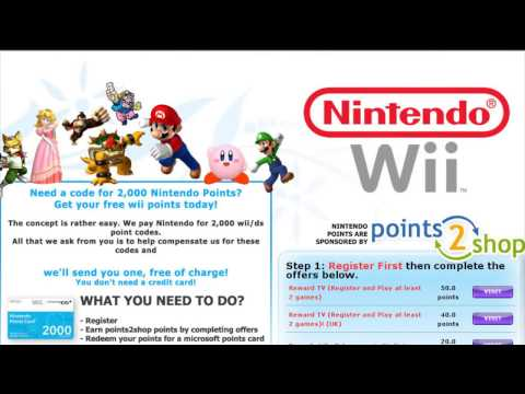 How to Get Wii Points Free | Emailed to You (2017)