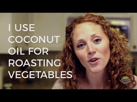 I Use Coconut Oil For Roasting Vegetables