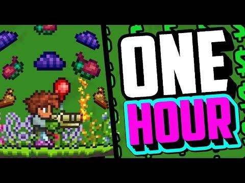 Terraria: Glitch Farming Jungle Bugs For 1 Hour! [Rags To Riches #2]