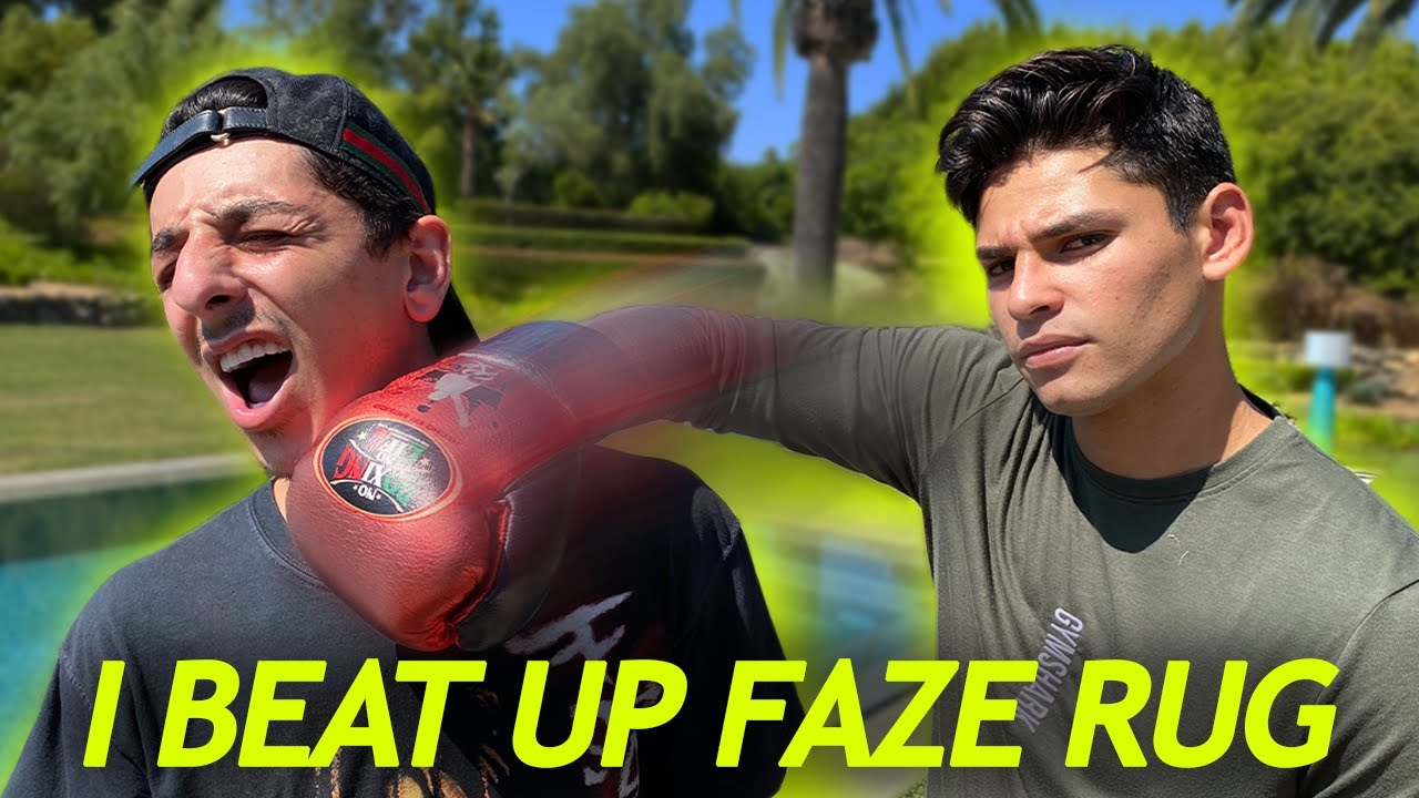 @FaZe Rug Can't Stop Me From Becoming Champion   Ryan Garcia Vlogs