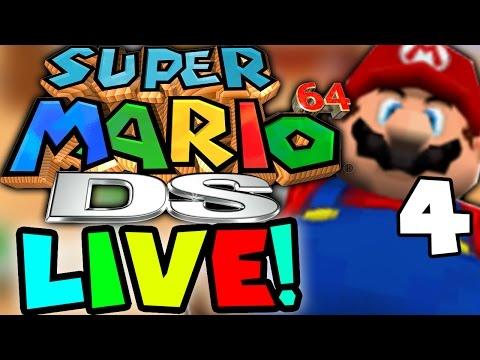Super Mario 64 DS UNLOCKING WARIO! Part 4