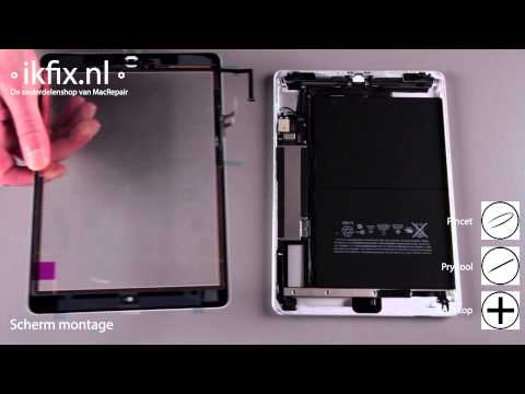 iPad Air WiFi Antenne vervangen