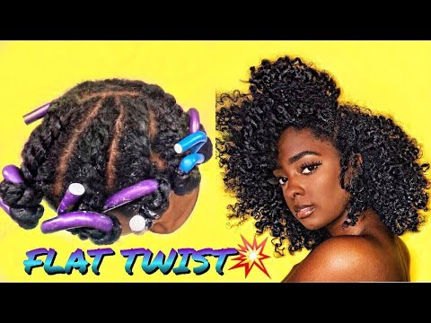 Flat TWIST OUT Natural Hair | alexuscrown