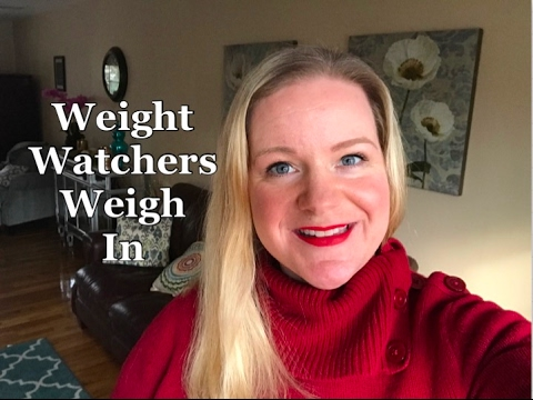 Weight Watchers SmartPoint Weekly Weigh In - Change Your Thinking