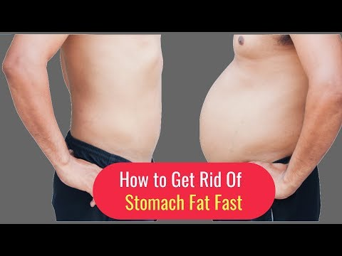 How to Get Rid of Stomach Fat Fast - Stomach Fat Burn
