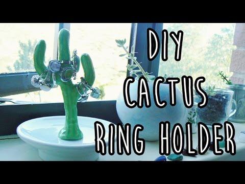 DIY Cactus Ring Holder | LDP