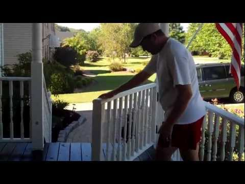 Front Porch Ideas - Rolling Gate for Your Porch