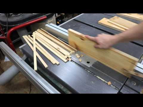 Workbench - Building drawers Part 2