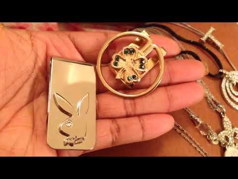 Jewelry organizing declutter