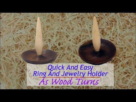 Quick And Easy Ring And Jewelry Holder