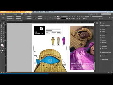 create interactive PDF with InDesign