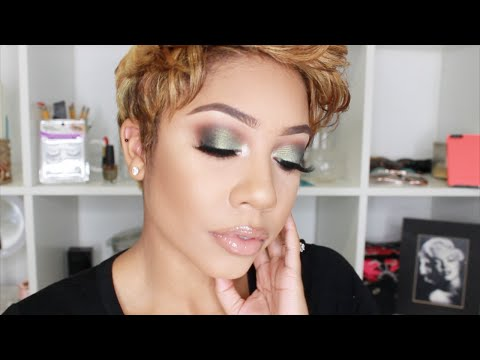 Bold Green Shadow | For Brown Eyes | FACEOVERMATTER