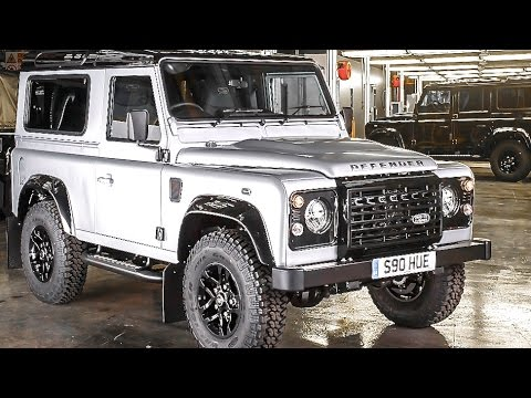 Land Rover Defender Final Series 2015 One Off 2 Millionth Land Rover Commercial CARJAM TV HD 2015