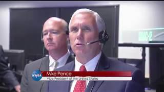 Vice President Visits Marshall Space Flight Center on This Week @NASA – September 29, 2017
