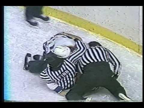 Old Hockey Fights