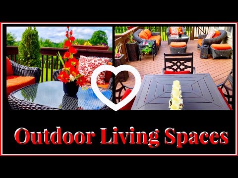 Outdoor Patio Refresh // DIY Patio Decor // Painting Our Deck