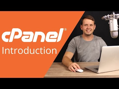 cPanel beginner tutorial 2 - introduction to cPanel