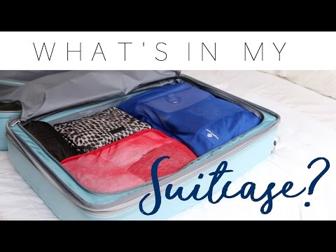 What's In My Suitcase? | Minimalist Packing