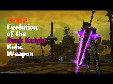 FFXIV Evolution of the Dark Knight Relic Weapon [Feat. Binding Coil of Bahamut Theme (Spiral)]