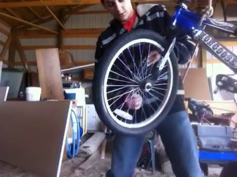 How to take off/on  a mongoose bicycle tire
