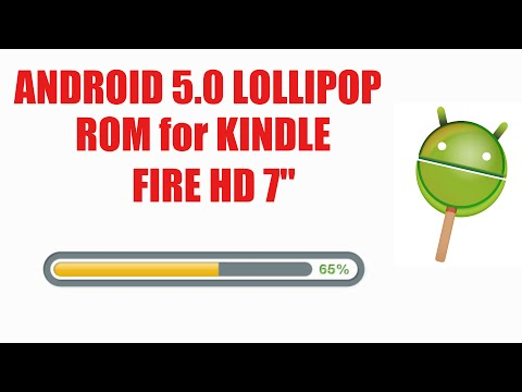 Install Android 5.0 Lollipop ROM on Kindle Fire HD 7