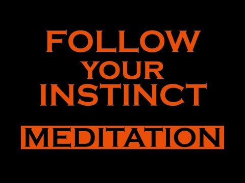 ★MANIFEST ANYTHING★ Follow your Instincts Hypnosis