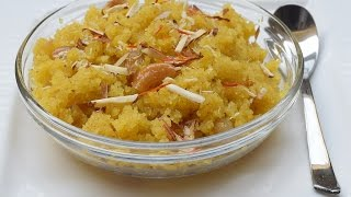 Suji (Rava)Doodh Ka Halwa | Semolina Milk Halwa Indian Sweet Dish सुजी का हलवा