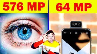 आपका आँख कितने मेगापिक्सल (Megapixels) का है ? Smartphone Megapixels vs Human Eye - Science - TEF 39
