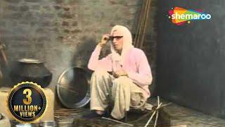 Indian Comedy Scene - One Woman Beats Two Men With Broom - Bhua Ek Te Fufad Do