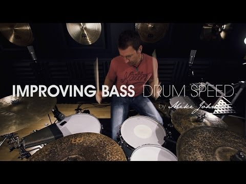 DRUM LESSON: Improving Bass Drum Speed - by Mike Johnston