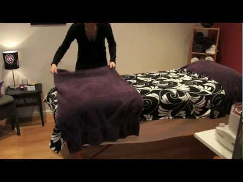How to make a comfortable therapy bed - Salon Secrets