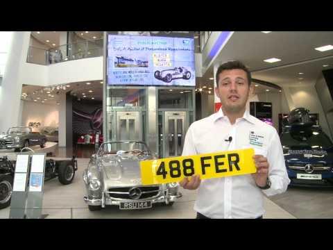 DVLA Auction Mercedes Benz World Day 1