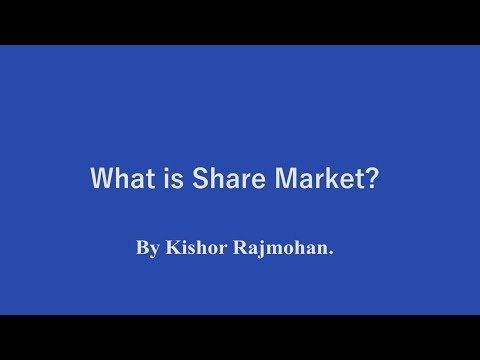 What is share market - In Malayalam..
