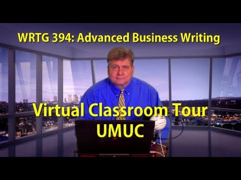 WRTG 394: Virtual Tour of the Online Classroom