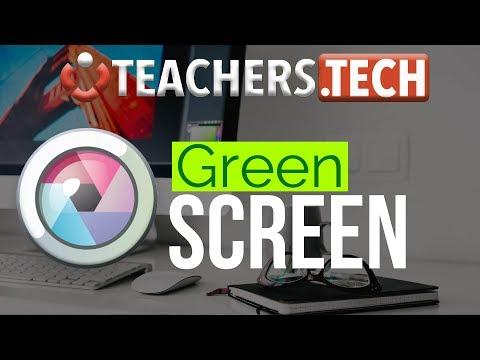 Change Background Using Green Screen - Pixlr